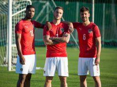 Новая домашняя форма сборной Австрии 2018