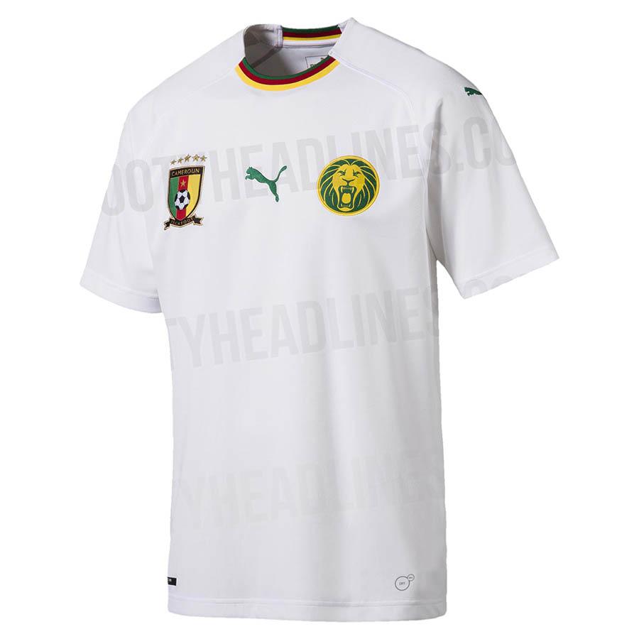 Гостевая форма сборной Камеруна 2018