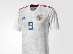 Гостевая форма сборной России 2018