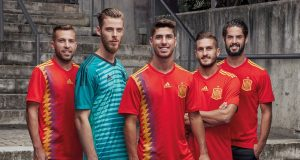 Домашняя форма сборной Испании 2018