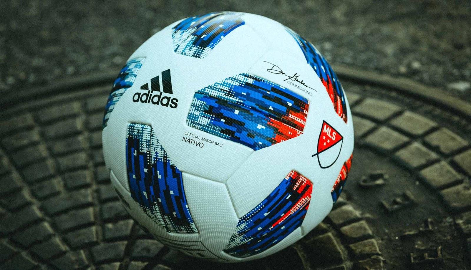 Новый мяч чемпионата МЛС Adidas Nativo 2018