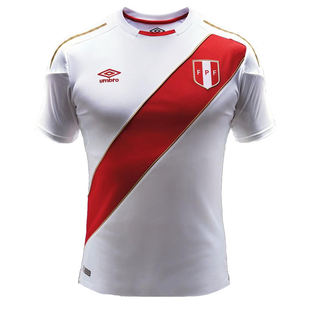 Домашняя форма сборной Перу 2018