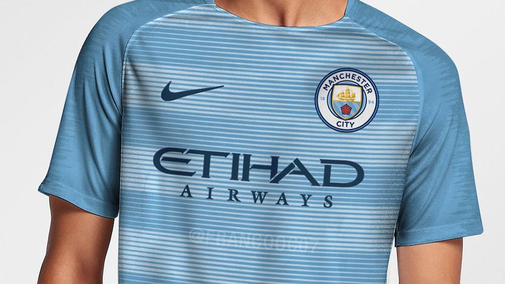 Форма Манчестер Сити на сезон 2018 | фото