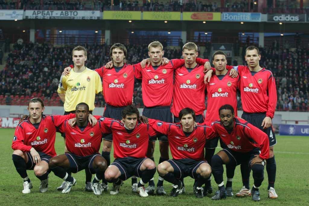 Форма ПФК ЦСКА в сезоне 2005