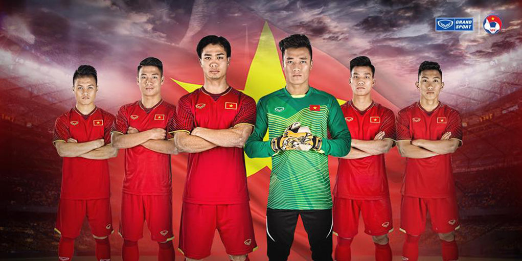 Форма сборной Вьетнама 2018