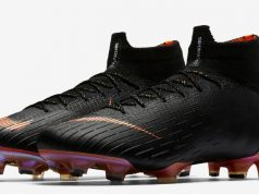 Black Nike Mercurial Superfly VI Elite
