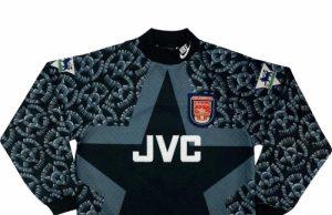 """Вратарская форма """"Арсенала"""" 94-95"""