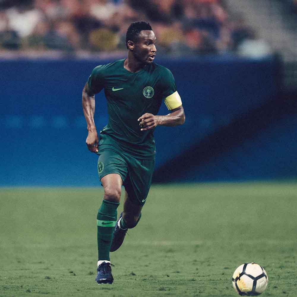 Гостевая форма сборной Нигерии 2018
