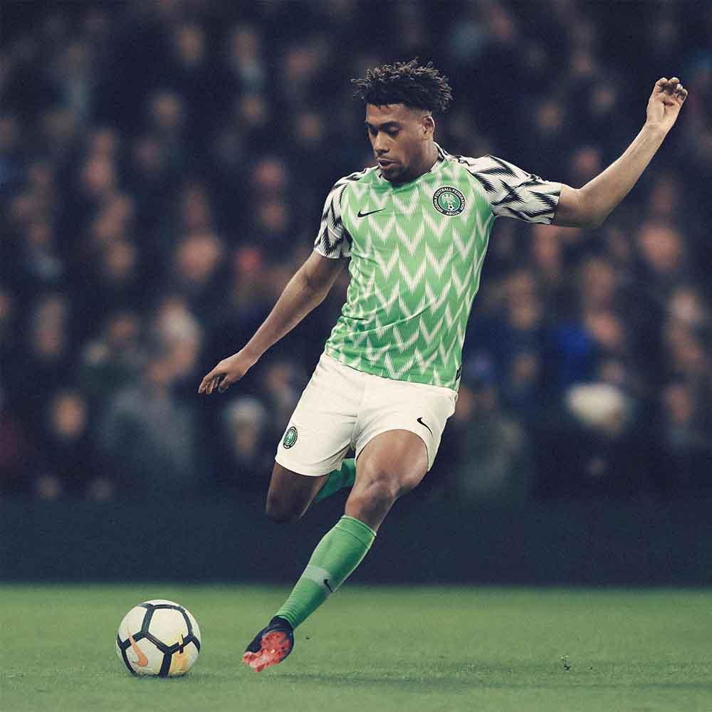 Домашняя форма сборной Нигерии 2018