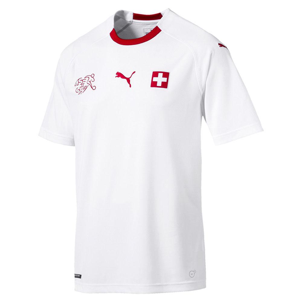 Гостевая форма сборной Швейцарии 2018