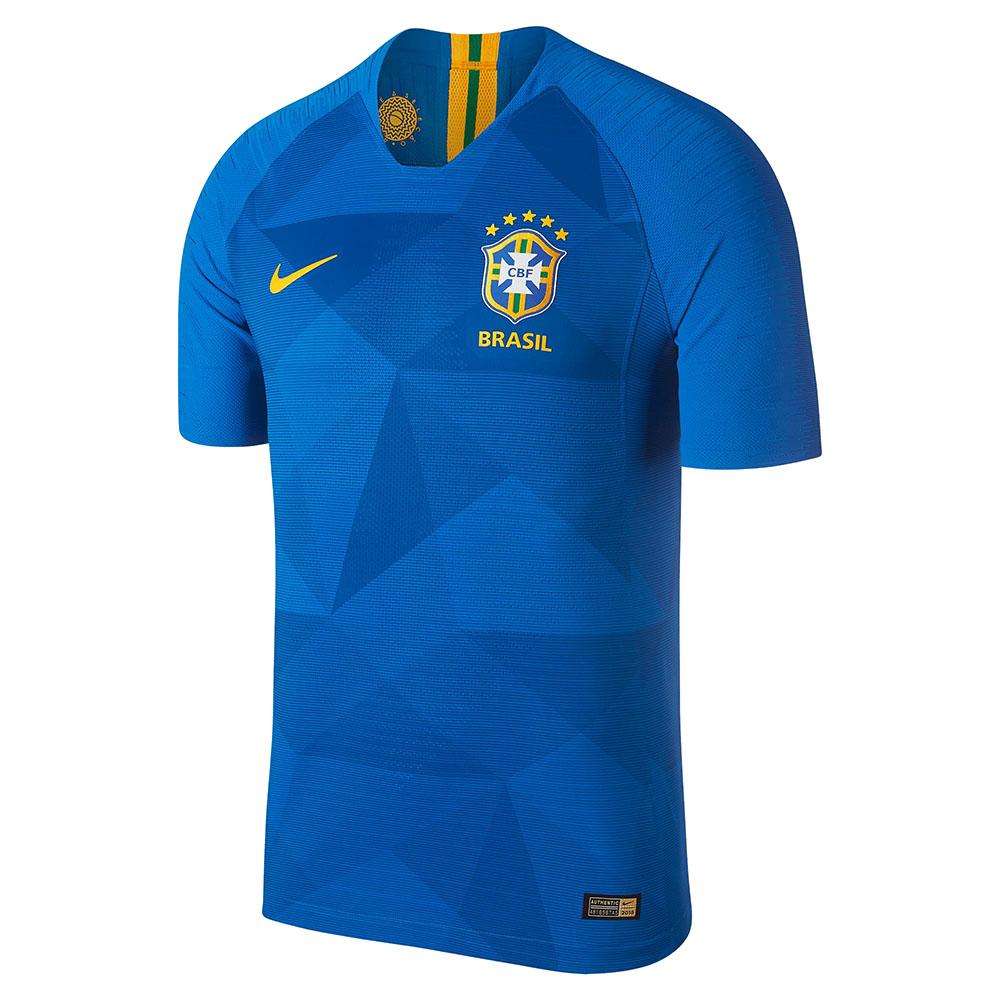 Гостевая форма сборной Бразилии 2018