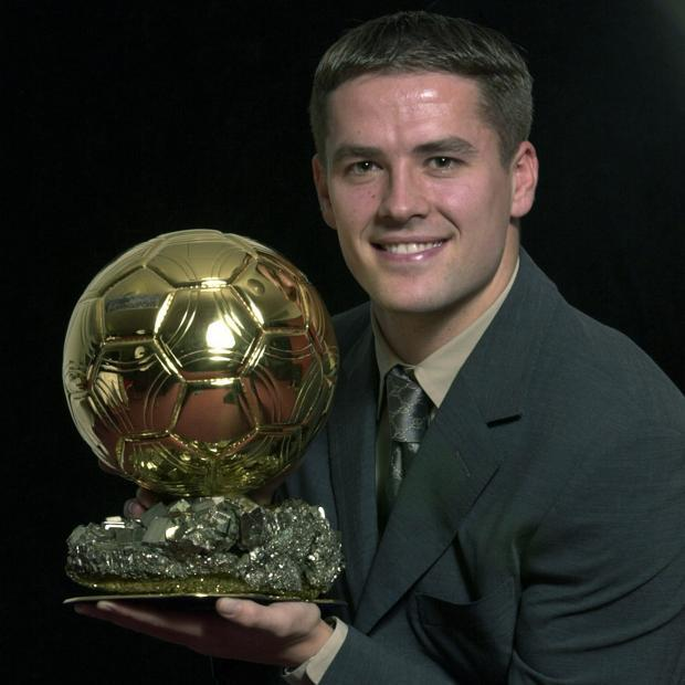 Майкл Оуэн с золотым мячом