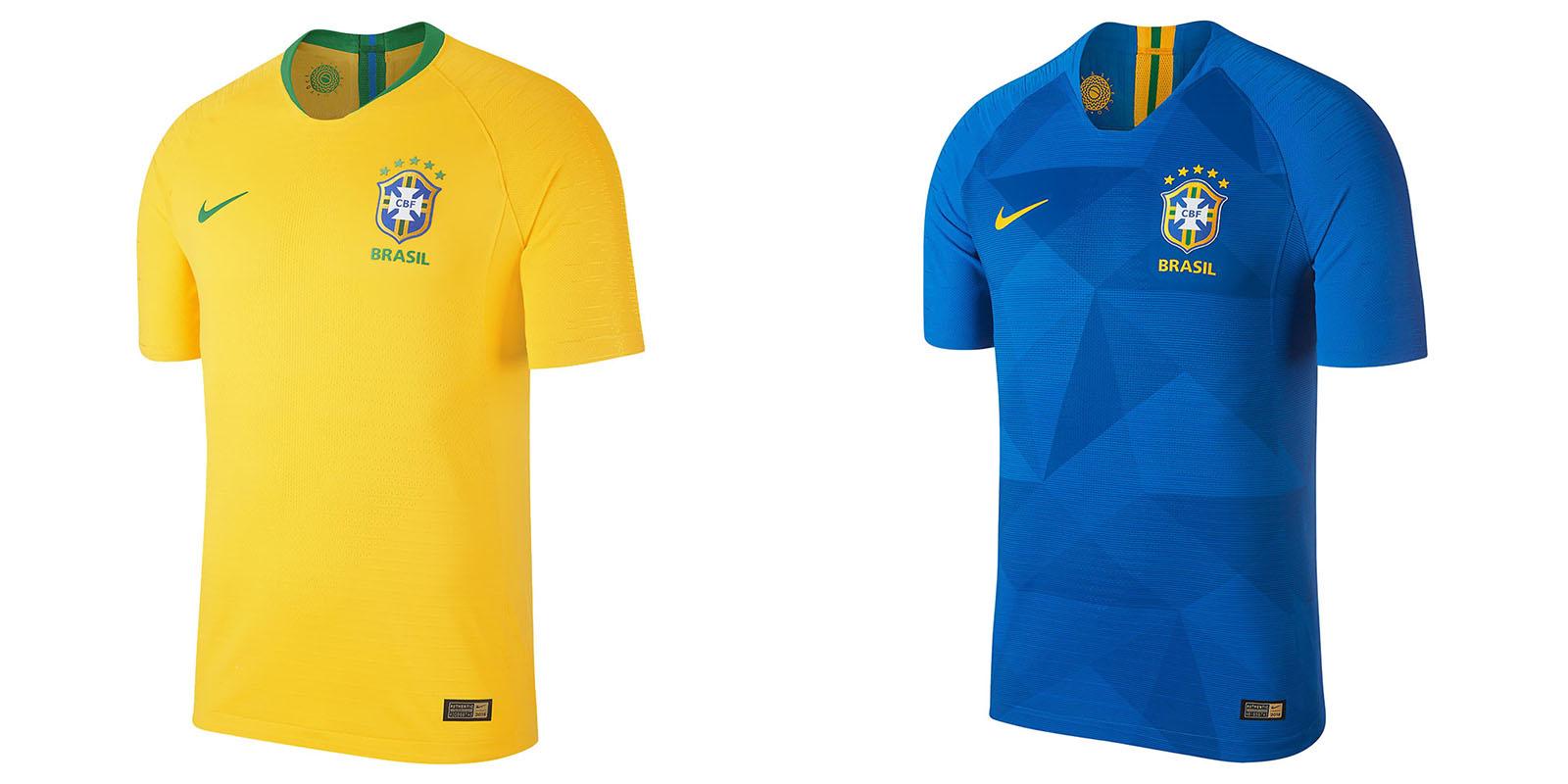 Форма сборной Бразилии на ЧМ2018
