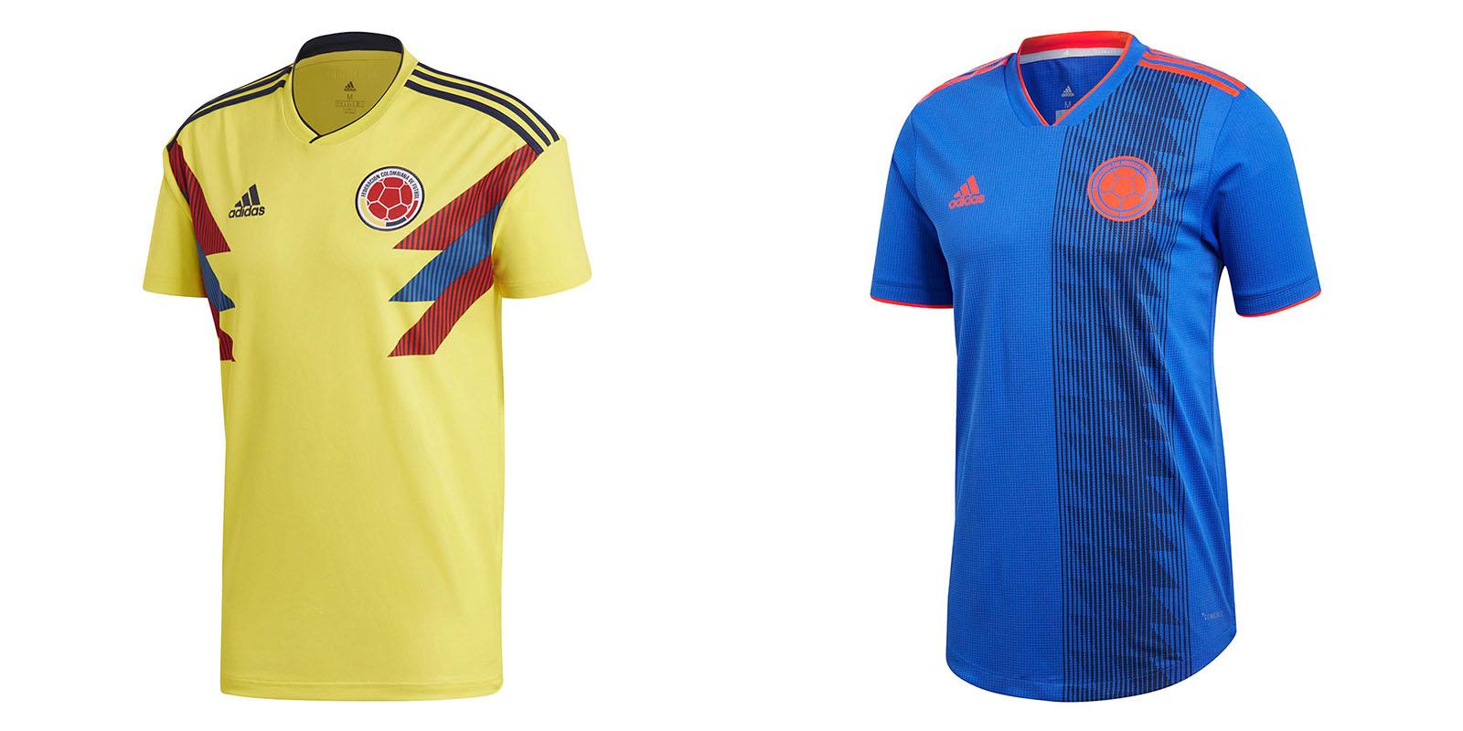 Форма сборной Колумбии на ЧМ2018