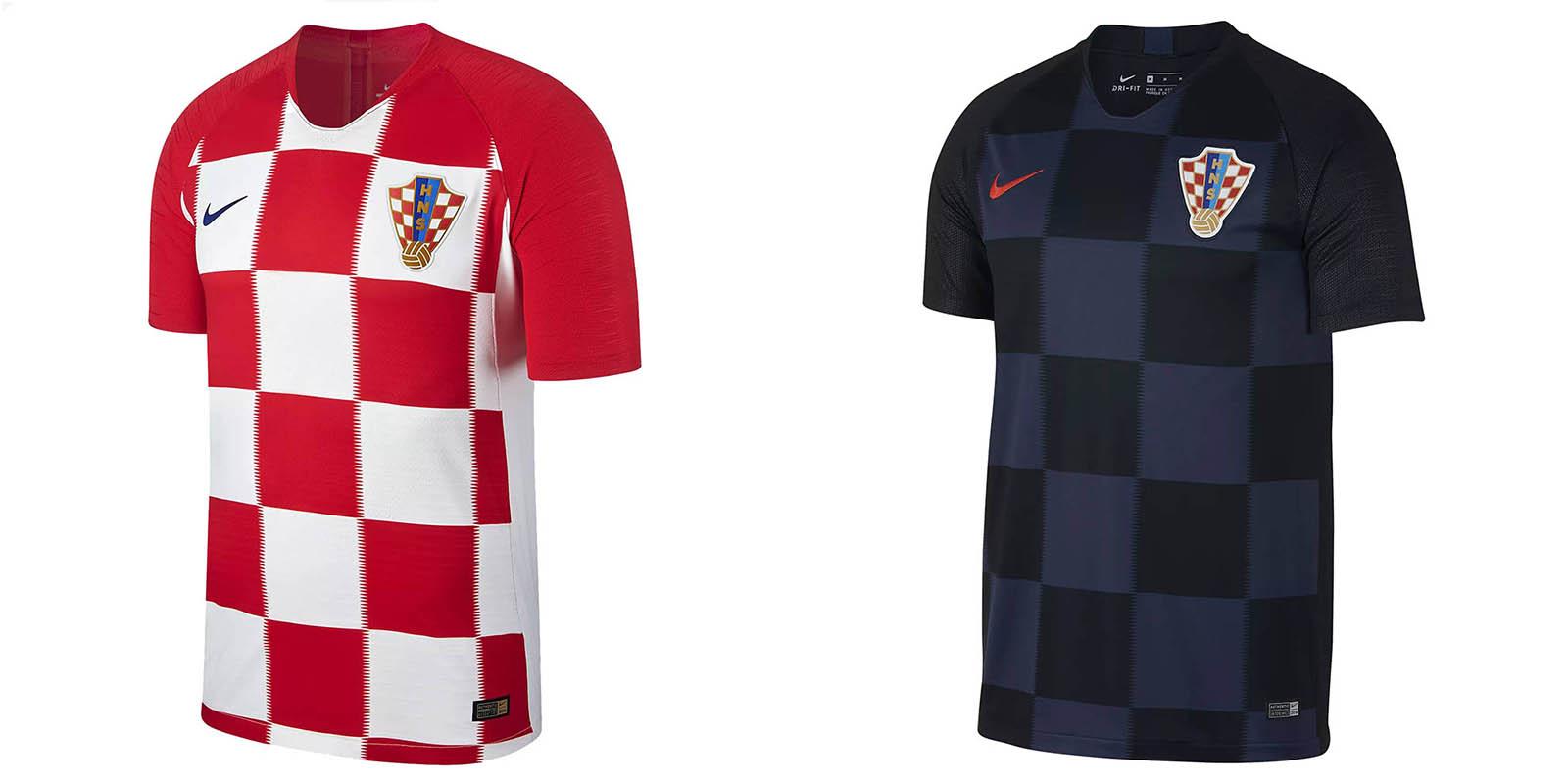 Новая форма сборной Хорватии 2018