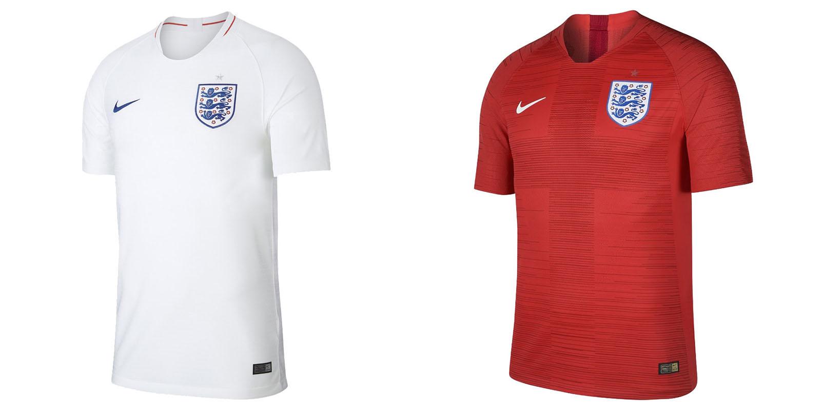 Форма сборной Англии на ЧМ2018