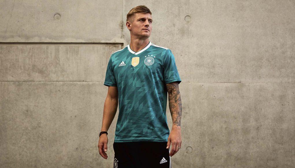 Новая форма сборной Германии 2018