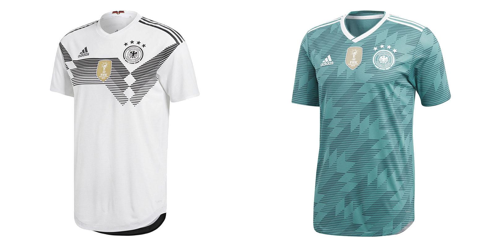 Форма сборной Германии на ЧМ2018
