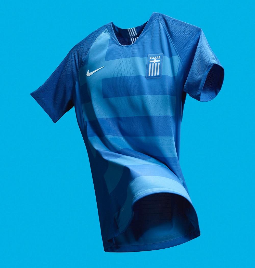 Гостевая форма сборной Греции 2018