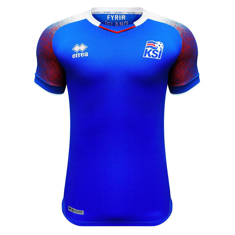 Домашняя форма сборной Исландии 2018