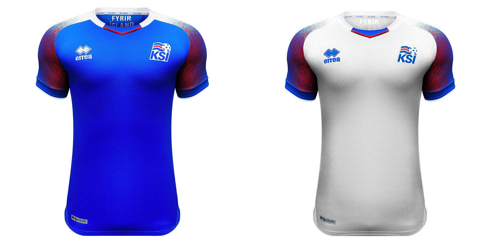 Форма сборной Исландии на ЧМ2018