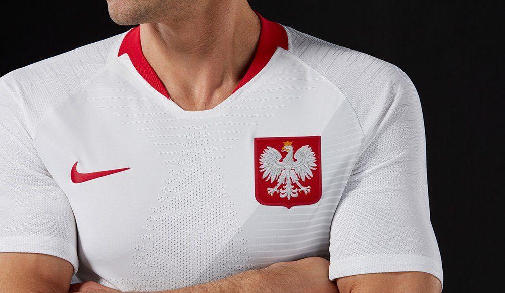 Новая форма сборной Польши 2018