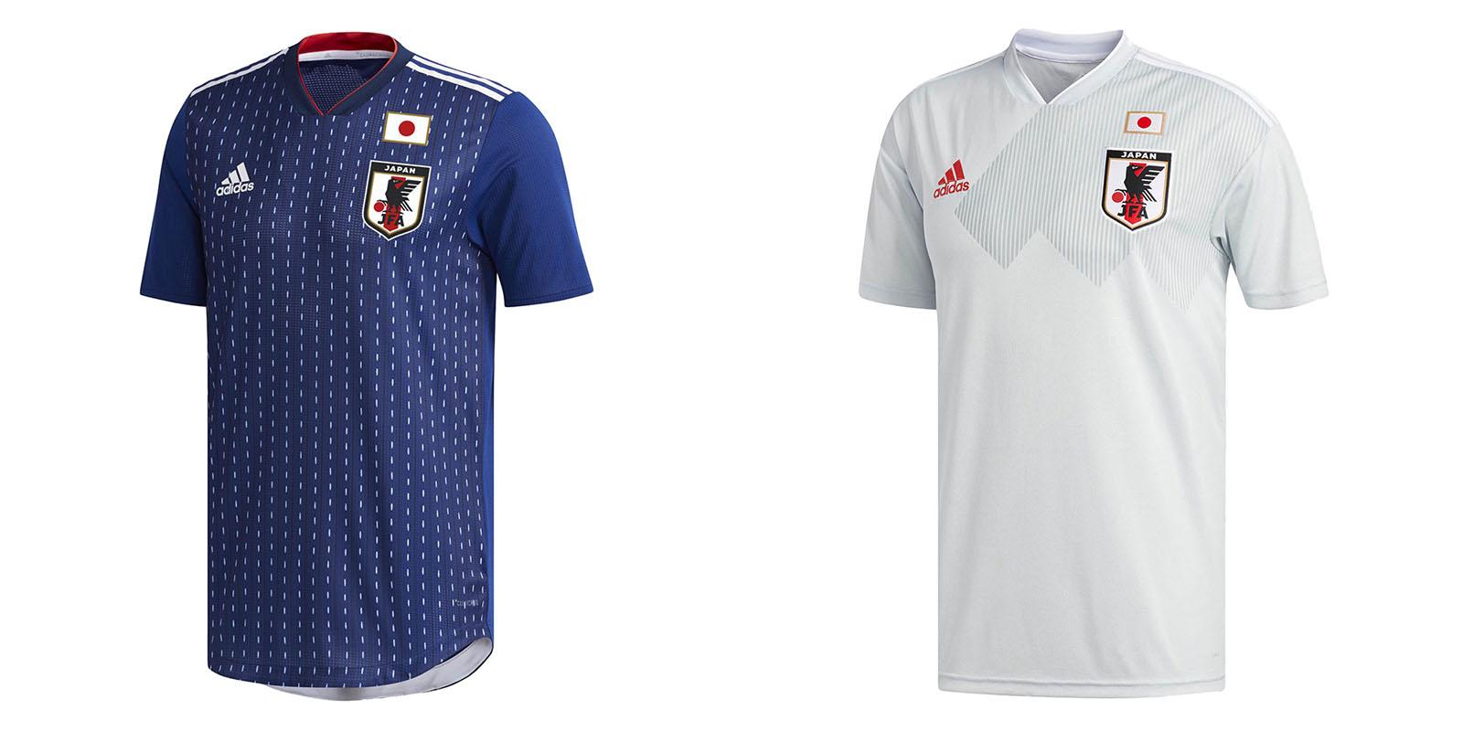 Форма сборной Японии на ЧМ2018