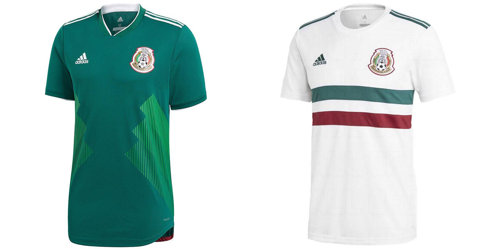 Форма сборной Мексики на ЧМ2018
