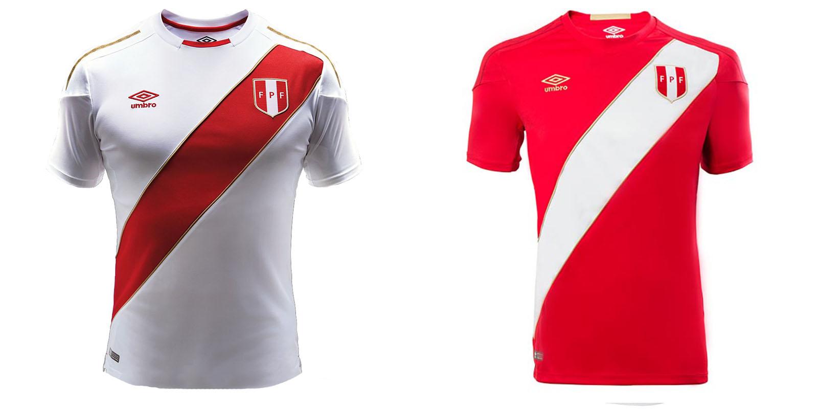 Форма сборной Перу на ЧМ2018