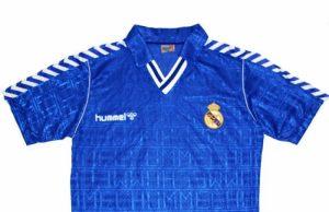 "Гостевая форма ""Реал Мадрид"" 89-90"