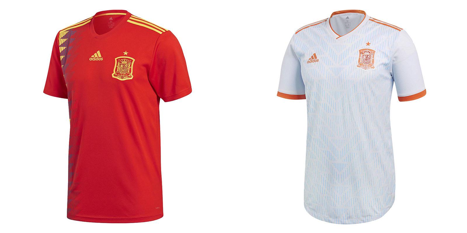 Форма сборной Испании на ЧМ2018