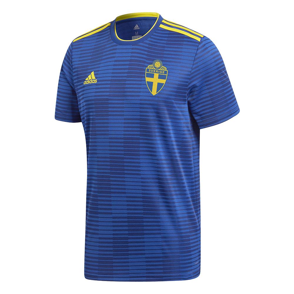 Гостевая форма сборной Швеции 2018