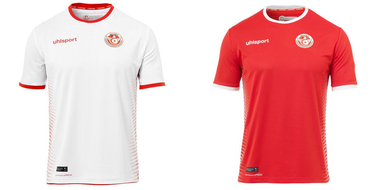 Новая форма сборной Туниса 2018