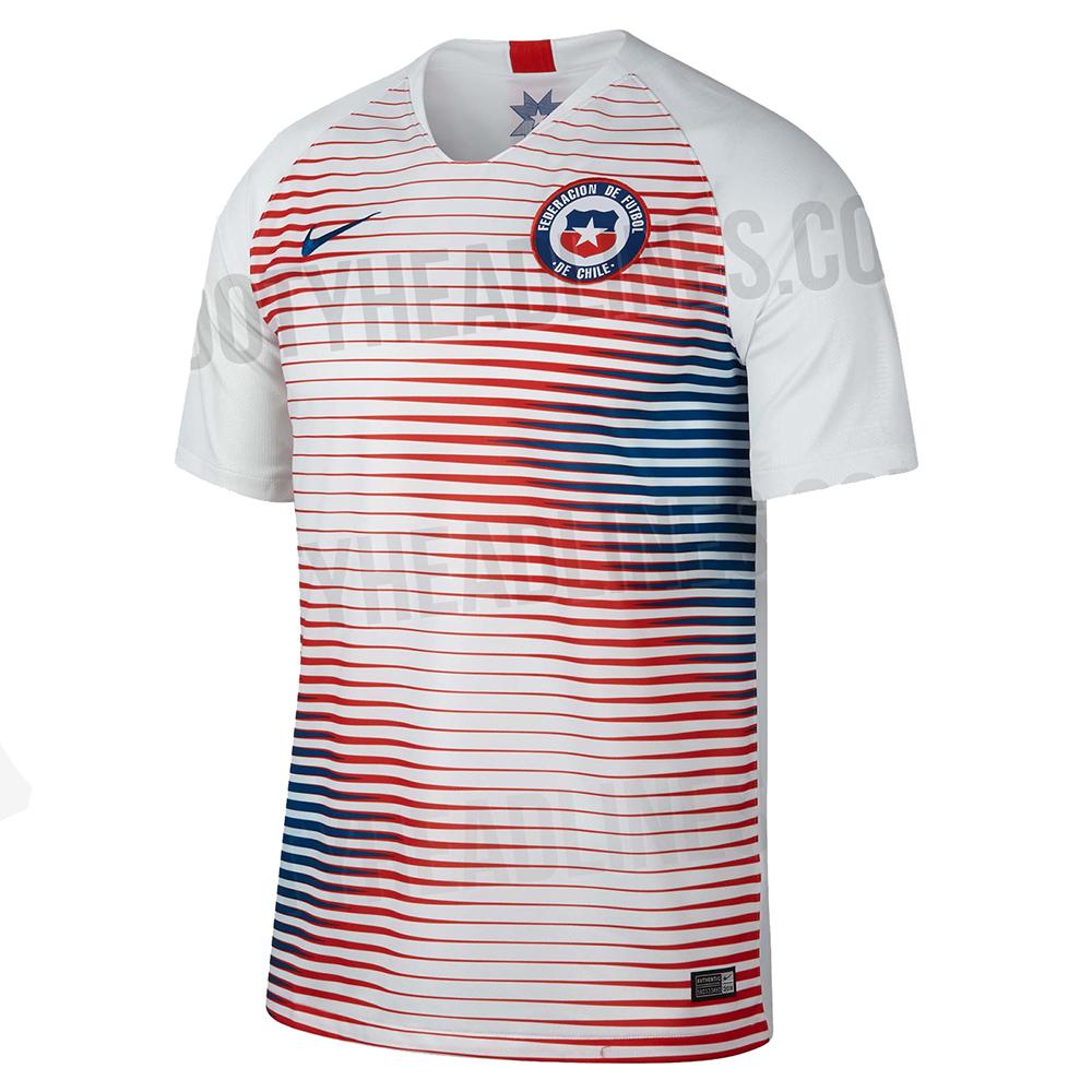 Гостевая форма сборной Чили 2018