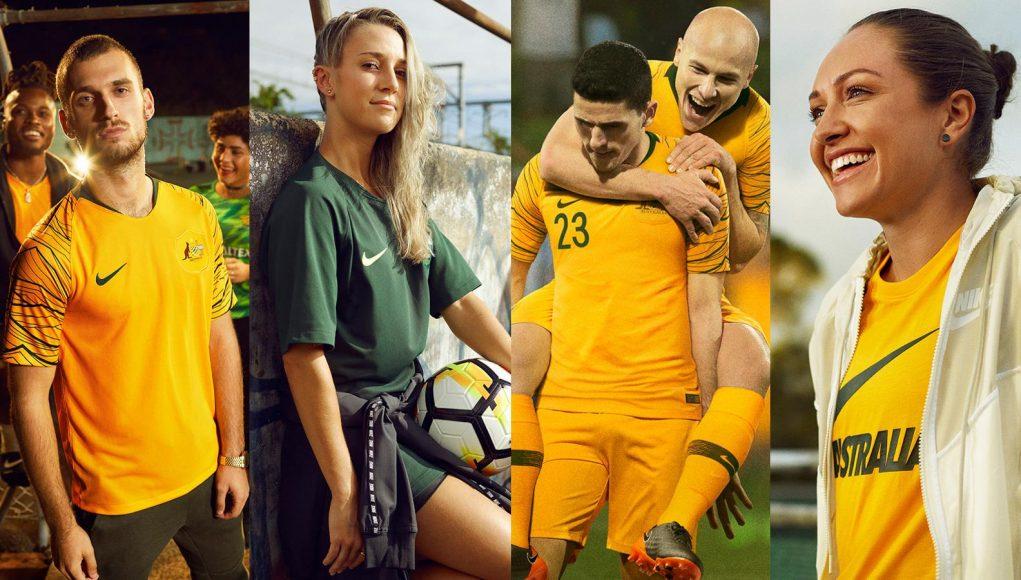Форма сборной Австралии 2018