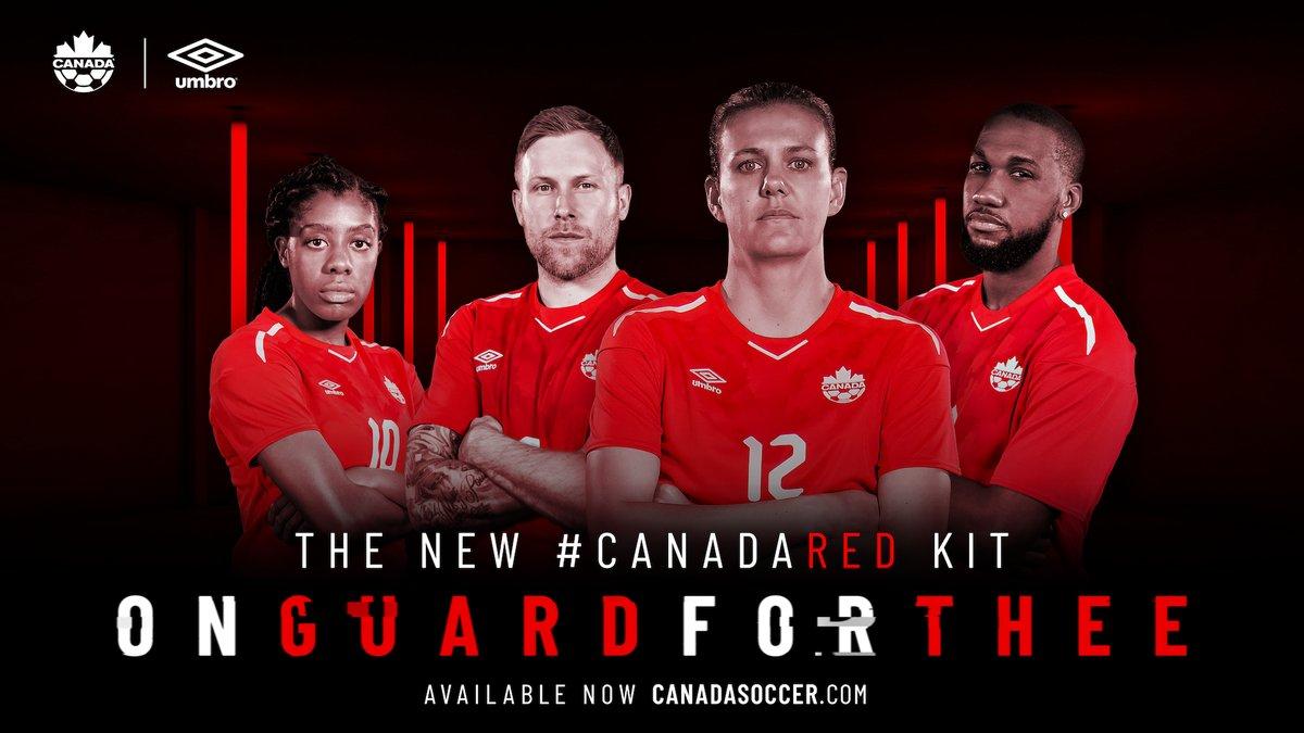 Форма сборной Канады 2018