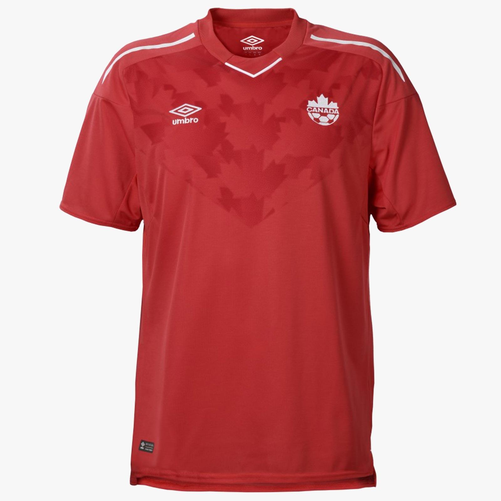 Домашняя форма сборной Канады 2018.