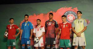 Форма сборной Марокко 2018