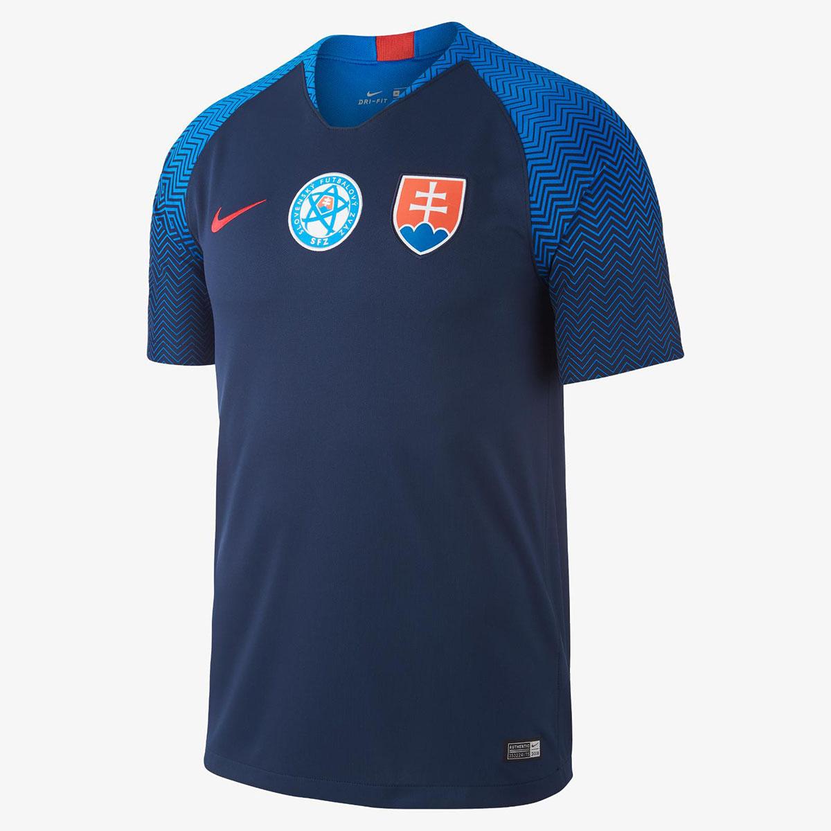 Гостевая форма сборной Словакии 2018