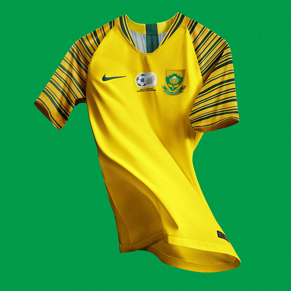 Домашняя форма сборной ЮАР