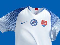 Новая форма сборной Словакии 2018