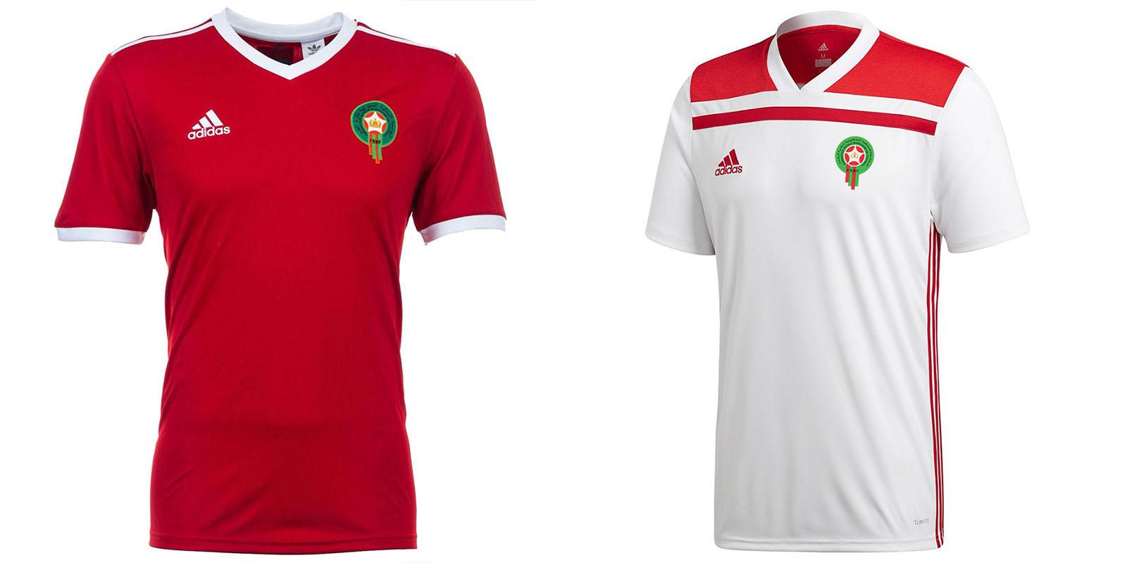 Форма сборной Марокко на ЧМ-2018