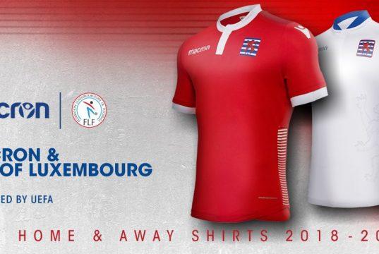Форма сборной Люксембурга 2018