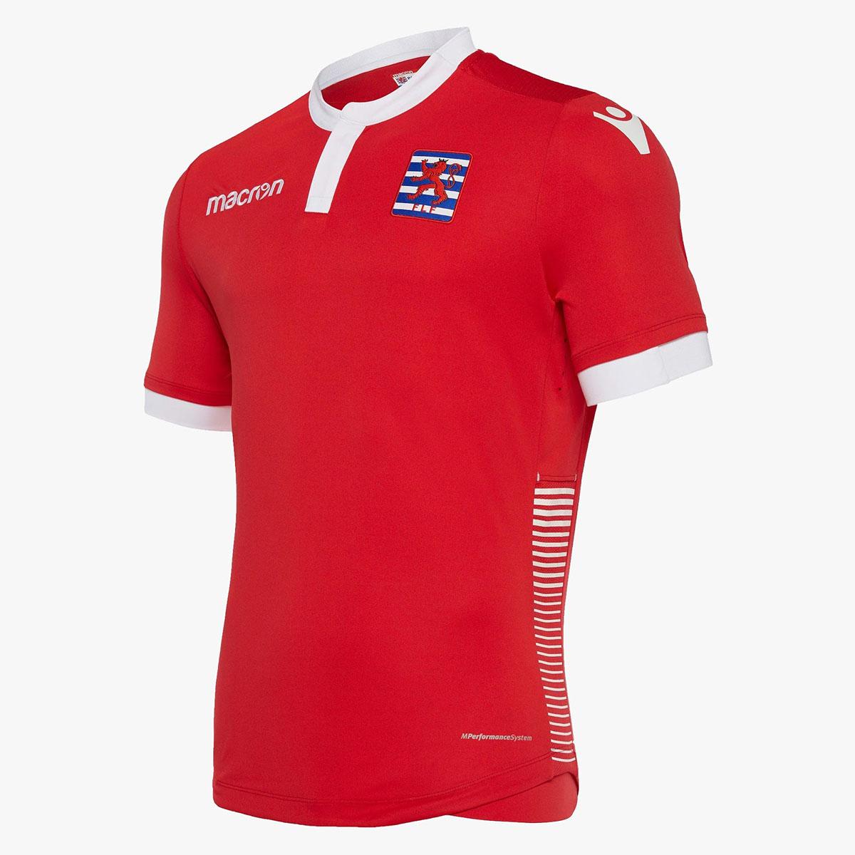 Домашняя форма сборной Люксембурга 2018