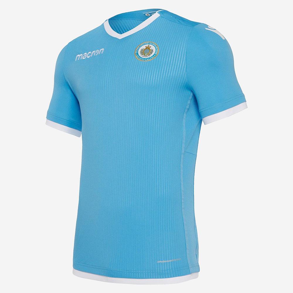 Домашняя форма сборной Сан-Марино 2018