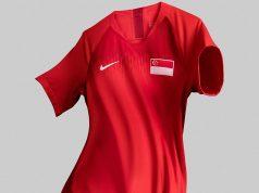 Домашняя форма сборной Сингапура 2018