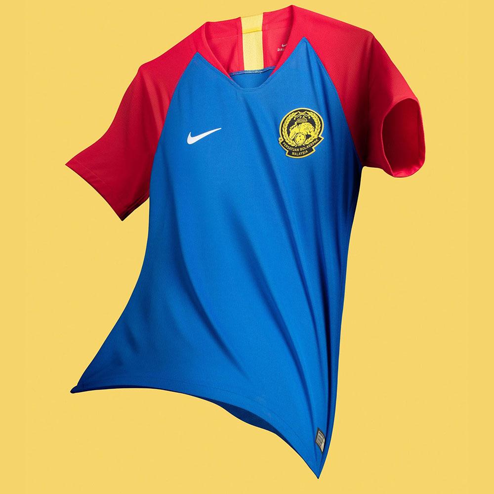 Гостевая форма сборной Малайзии 2018