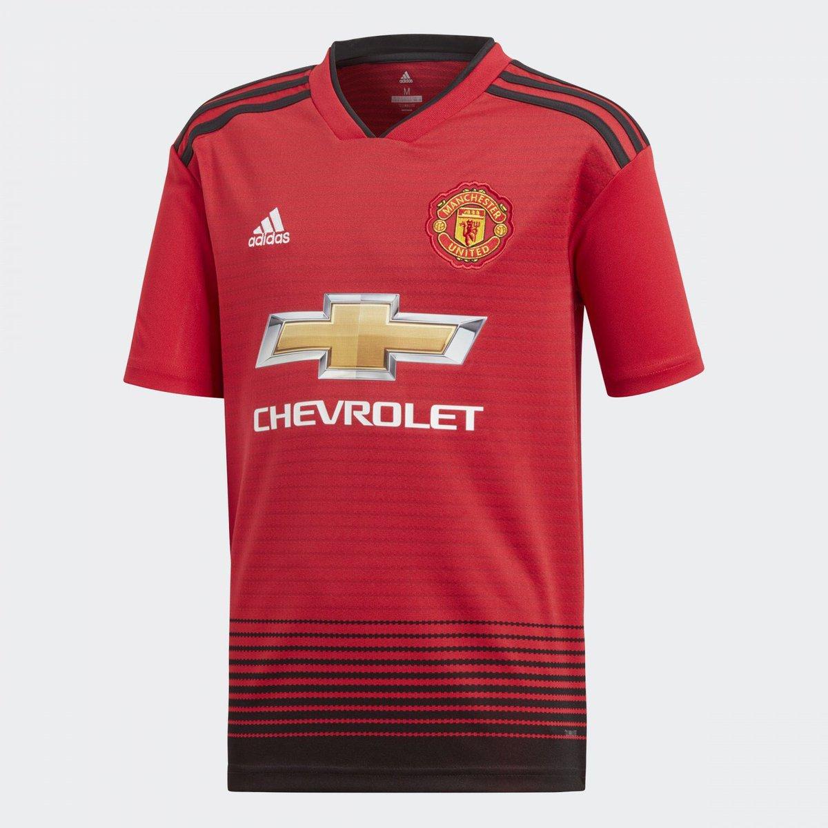"Новая домашняя форма ""Манчестер Юнайтед"" 2018-2019"