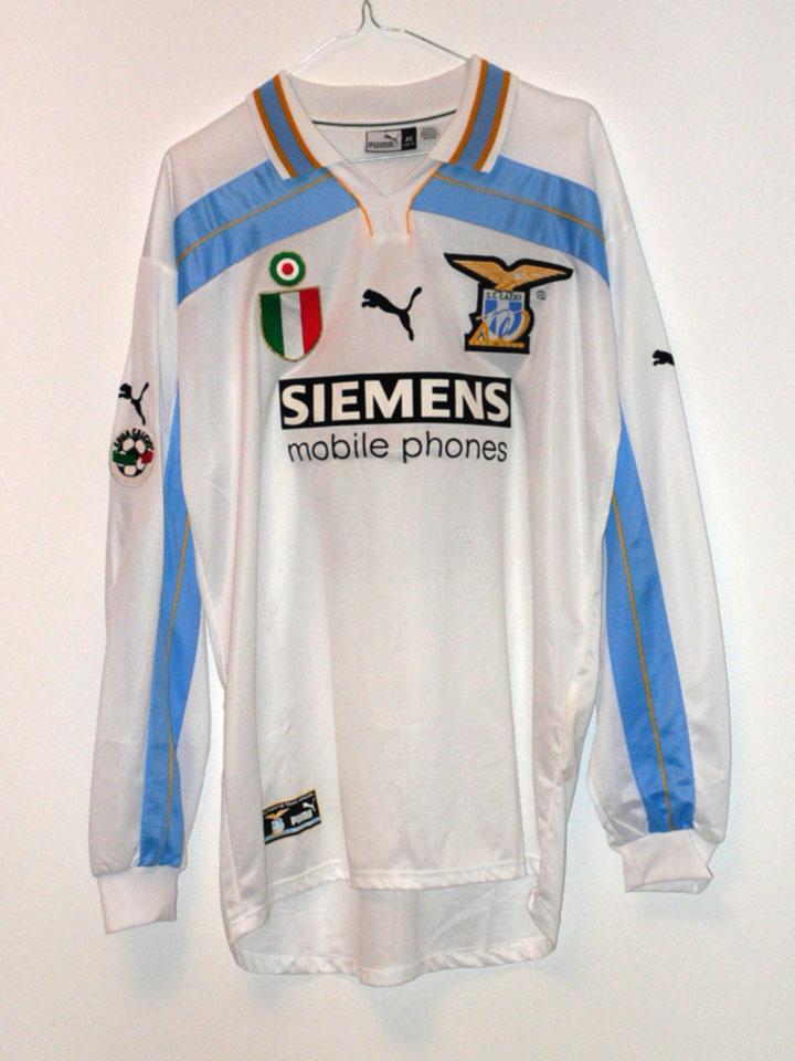 """Форма """"Лацио"""" 2000-2001"""