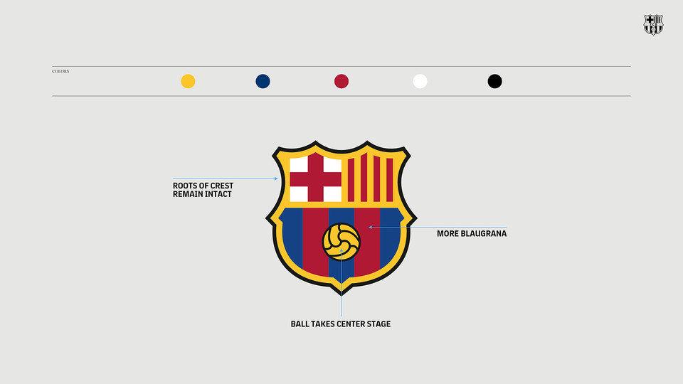 """Новый логотип """"Барселоны"""""""